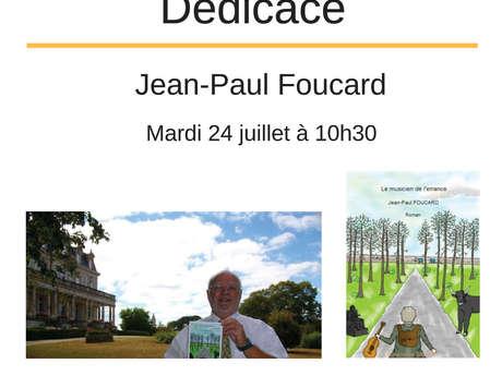Dédicace Jean-Paul Foucard