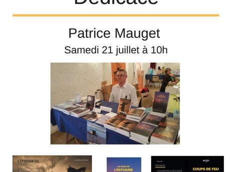 Dédicace Patrice Mauget