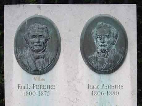 Visite guidée « L'Histoire des Frères Pereire et les traces de leur passage ».