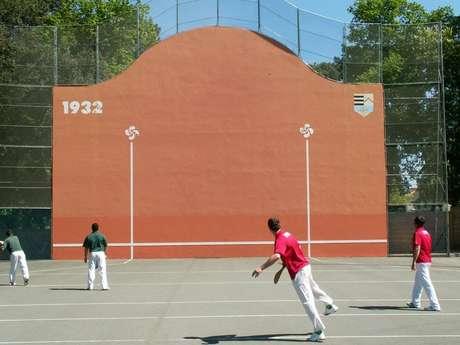 Exhibition de pelote basque
