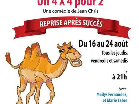 """Théâtre """"Un 4X4 pour deux"""""""