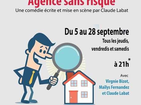 """Théâtre """"Agence sans risque"""""""