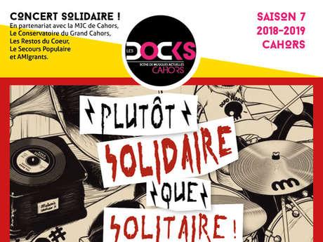 Concert Solidaire aux Docks