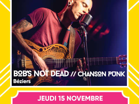 "Concert : ""Bob's not dead"" aux Docks'side"
