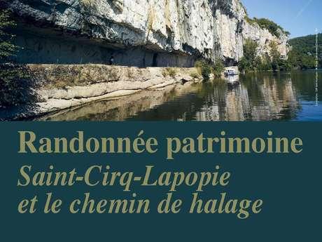 Randonnée Patrimoine : Saint-Cirq Lapopie et le Chemin de Halage