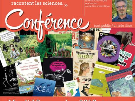 """Conférence - Les Sciences au Dessert : """"Des Histoires Vraies : Comment les Documentaires Racontent les Sciences"""""""