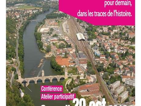 Journées Nationales de l'Architecture 2018: Conférence - Atelier Participatif, à Cahors