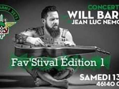 Fav'stival : Will Barber et Jean-Luc Nemours - Annulé -