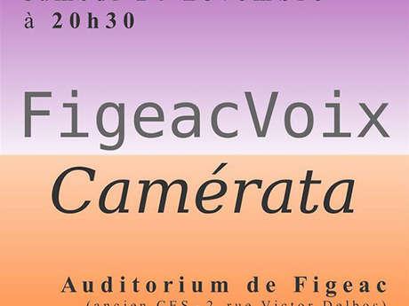 Concert, FigeacVoix et l'Orchestre Camérata