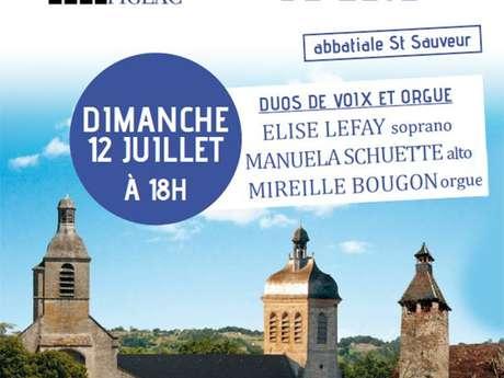 """***ANNULE***Concert d'Été les Amis des Orgues """"Duos de Voix et Orgue"""""""