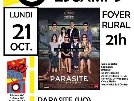 """CinéLot à Escamps: """"Parasite"""""""