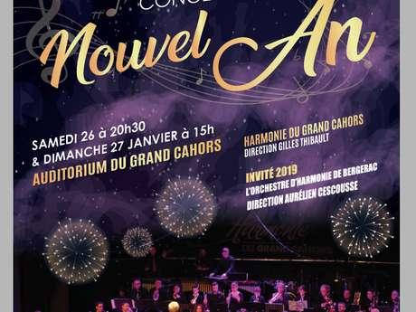 Concert du Nouvel An par l'Harmonie du Grand Cahors