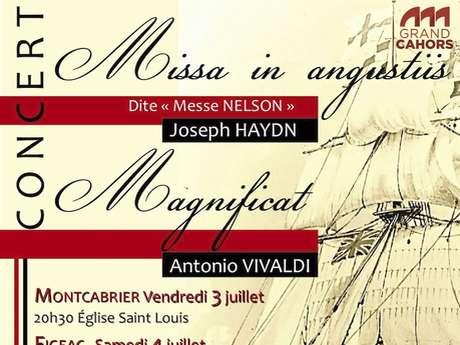 "***ANNULE***Concert ""Joseph Haydn Missa in Angustiis et Antonio Vivaldi : Magnificat"""