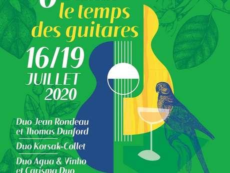 Festival Le Temps des Guitares - Annulé -