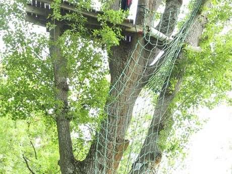 Accrobranche à CAP NATURE Parc de Loisirs