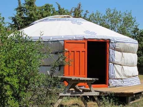 Les Cadichons - en yourte, tipi ou tente saharienne