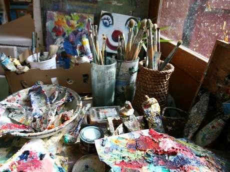 Atelier de peinture de René Boutang