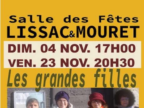 """Soirée Théâtre """"les Grandes Filles"""""""