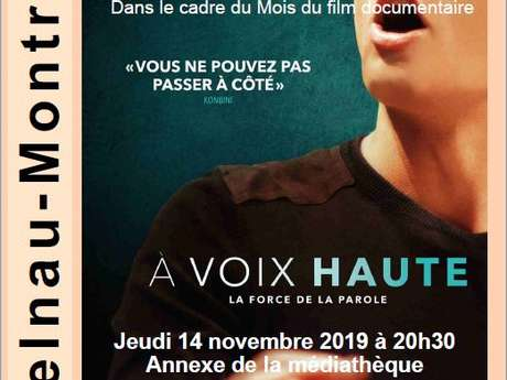 """Projection du Documentaire : """"À Voix Haute"""""""