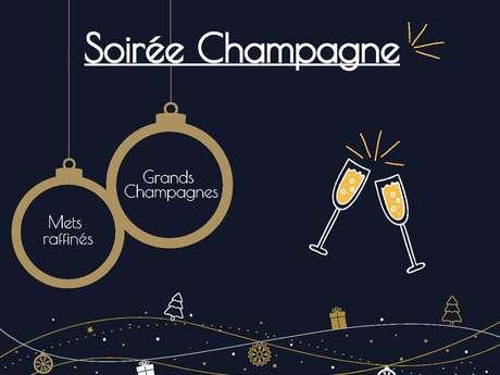 Soirée Champagne à l'Atrium