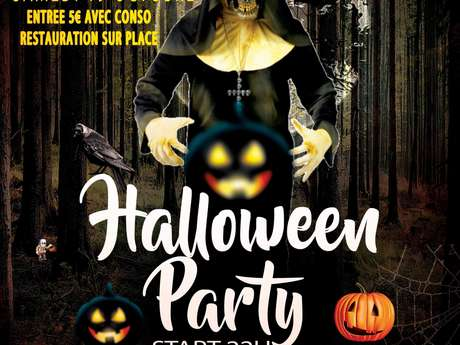 Soirée Disco Halloween Party à Varaire