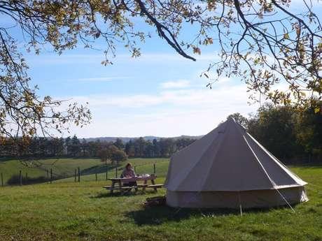Camping à la Ferme Alpagas du Quercy