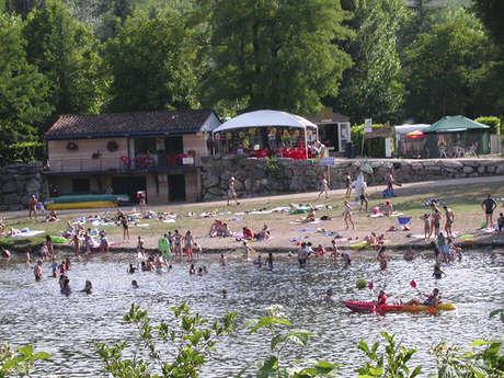Camping La Plage - location de canoës