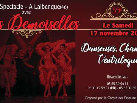 """Soirée Cabaret """"Les Demoiselles"""""""