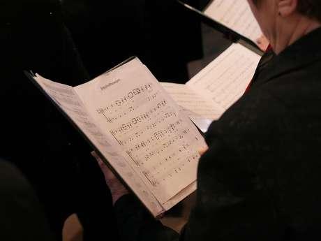 Concert de la Chorale les Echos de la Bouriane avec la chorale américaine  Lycoming College Choral Scholars