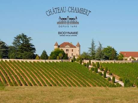 """""""Vins, Nature et VTT""""au Château Chambert"""
