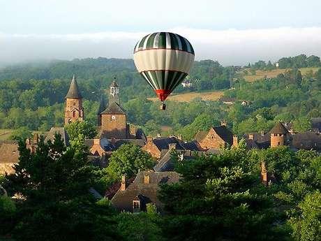 Corrèze Montgolfière