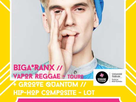Concert Biga*Ranx & Groove Quantum aux Docks, à Cahors