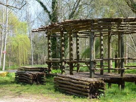 Caillebotis du Site Archéologique du Piage
