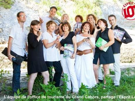 Office de tourisme Cahors Vallée du Lot - Bureau d'information du Pont Valentré
