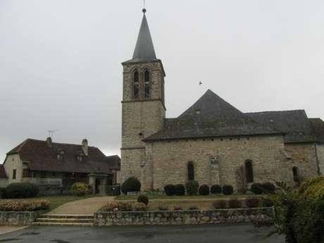 Eglise Saint-Martial de tauriac: Visite des Peintures Murales