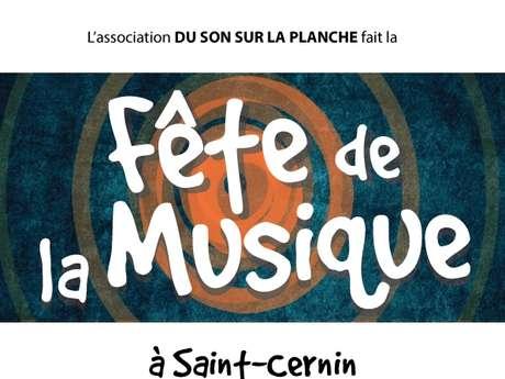 Fête de la musique à St-Cernin