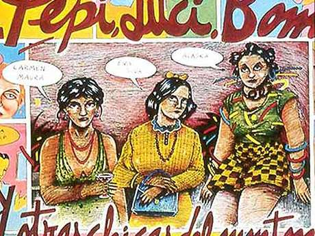 Dans le Cadre de CINESPAÑA - Rétrovision  : ''Pepi, Luci, Bom et les autres Filles du Quartier''