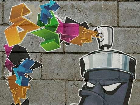 Atelier Prénom Graff sur Toile et Pâtisserie à la Bicoque