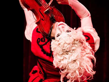 """Spectacle de Clowns Musiciens : """"Concerto pour Deux Clowns"""" par les Rois Vagabonds"""
