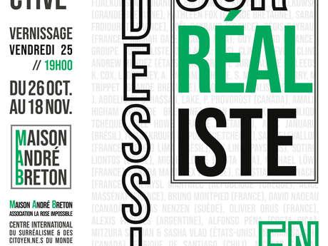 """Exposition """"Le Dessin Surréaliste en 2019"""" à la Maison André Breton"""