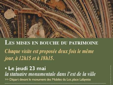 Les Mises en Bouche du Patrimoine : Statuaire Monumentale dans l'Est de la Ville