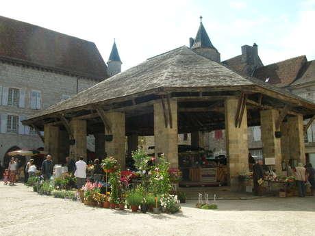 GR46 de  Sarrazac à Beauregard par Rocamadour et St Cirq Lapopie