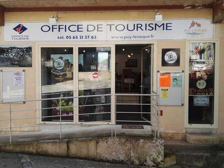 Office de Tourisme Lot-Vignoble Bureau d'information de Puy L'Evêque