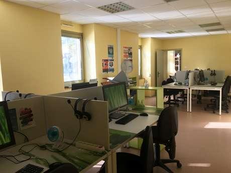 Pôle Numérique Cyber Base Quercy Bouriane