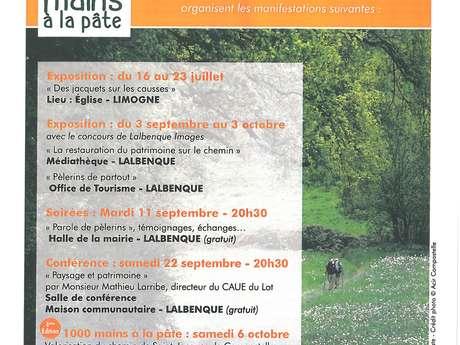 """Expositions """"La Restauration du Patrimoine Sur le Chemin"""" et """"Pèlerins de Partout"""""""