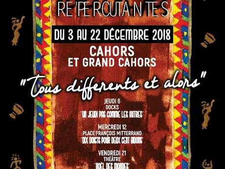 """Rencontres Ré'Percutantes : Spectacle de Rue """"Dix Doigts pour 200 Bidons"""""""