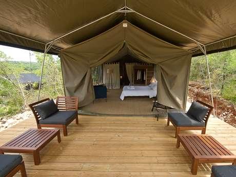 Aux lodges du Mas de Nadal - Lodge 2 personnes