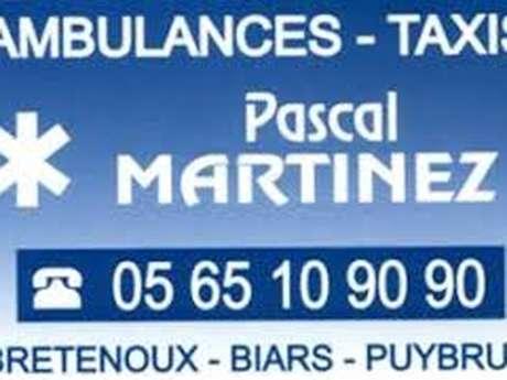 SARL Bretenoux Ambulances - Ent. Pascal MARTINEZ