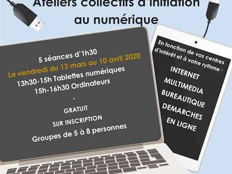 ===ANNULE===Ateliers Collectifs d'Initiation au Numérique