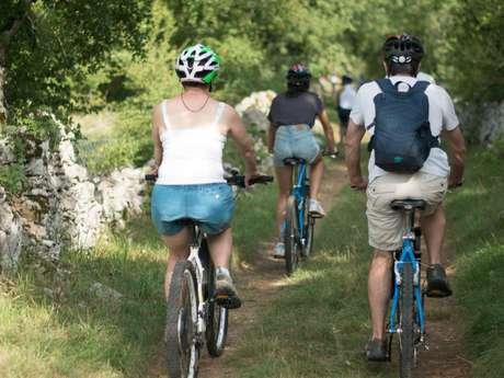 Pays d'Art et d'Histoire : Balade en Famille A Vélo Sur Le Causse De Rocamadour